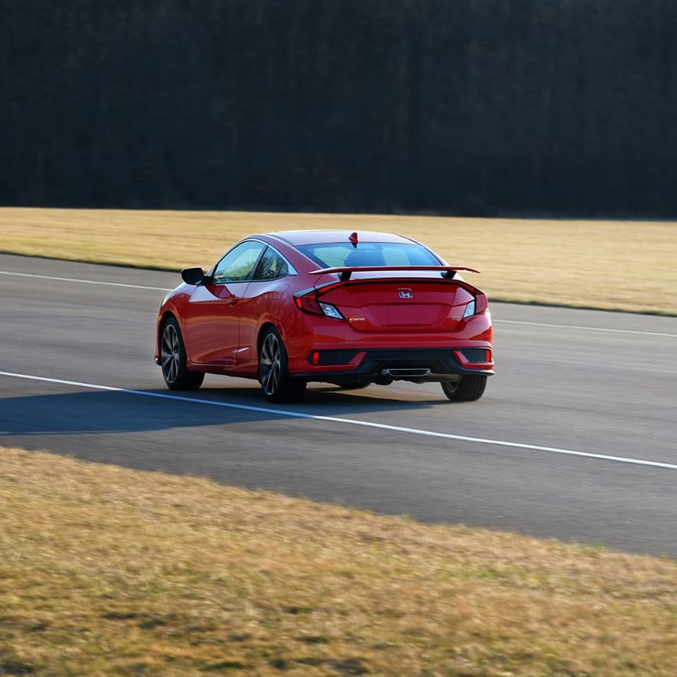 Inspired by the track, built for every day. The Civic Si