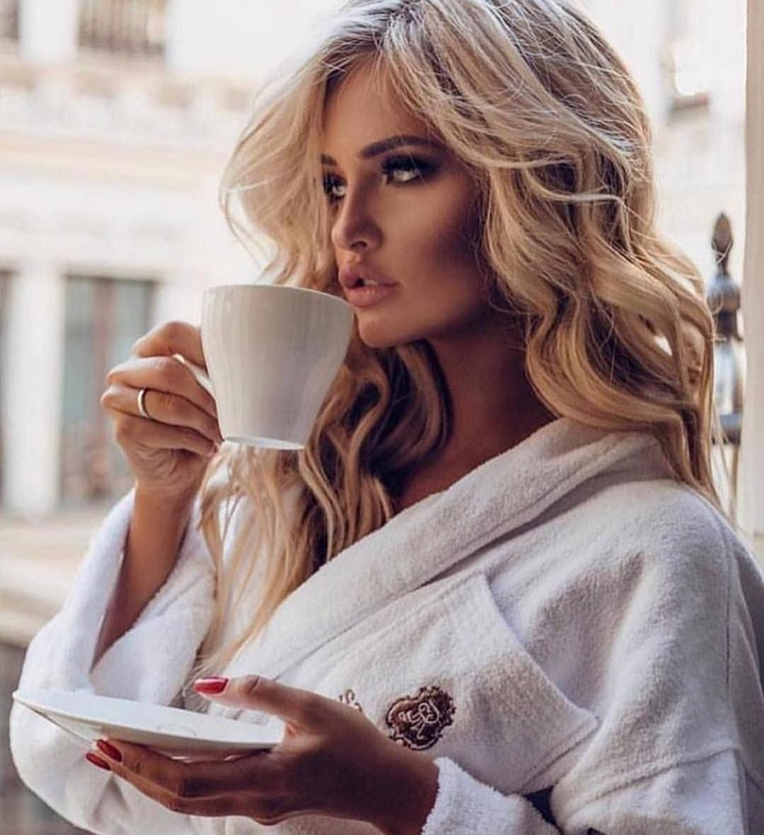 Девушка с добрым утром фото картинки