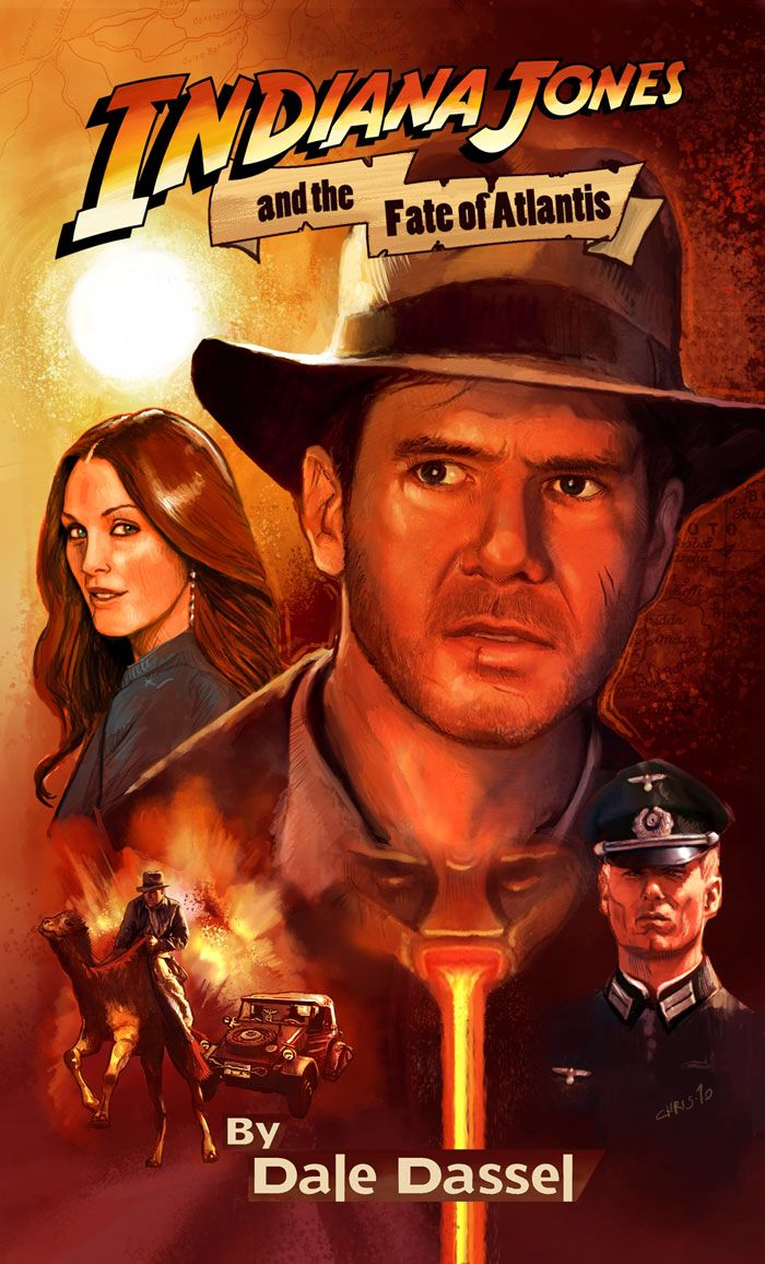 Indiana Jones And The Fate Of Atlantis A Fan Novelization Of The Video Game Indiana Jones Indiana Jones Films Indiana Jones Adventure
