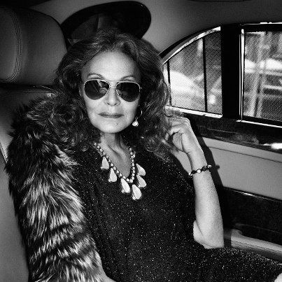 """""""I REALLY SELL CONFIDENCE, BECAUSE CONFIDENCE IS WHAT ALLOWS YOU TO DESIGN YOUR LIFE AND BE THE PERSON YOU ARE."""" ~ DVF - Diane von Furstenberg to Interview Magazine We are so lucky to have a CFDA President with this kind of attitude!"""