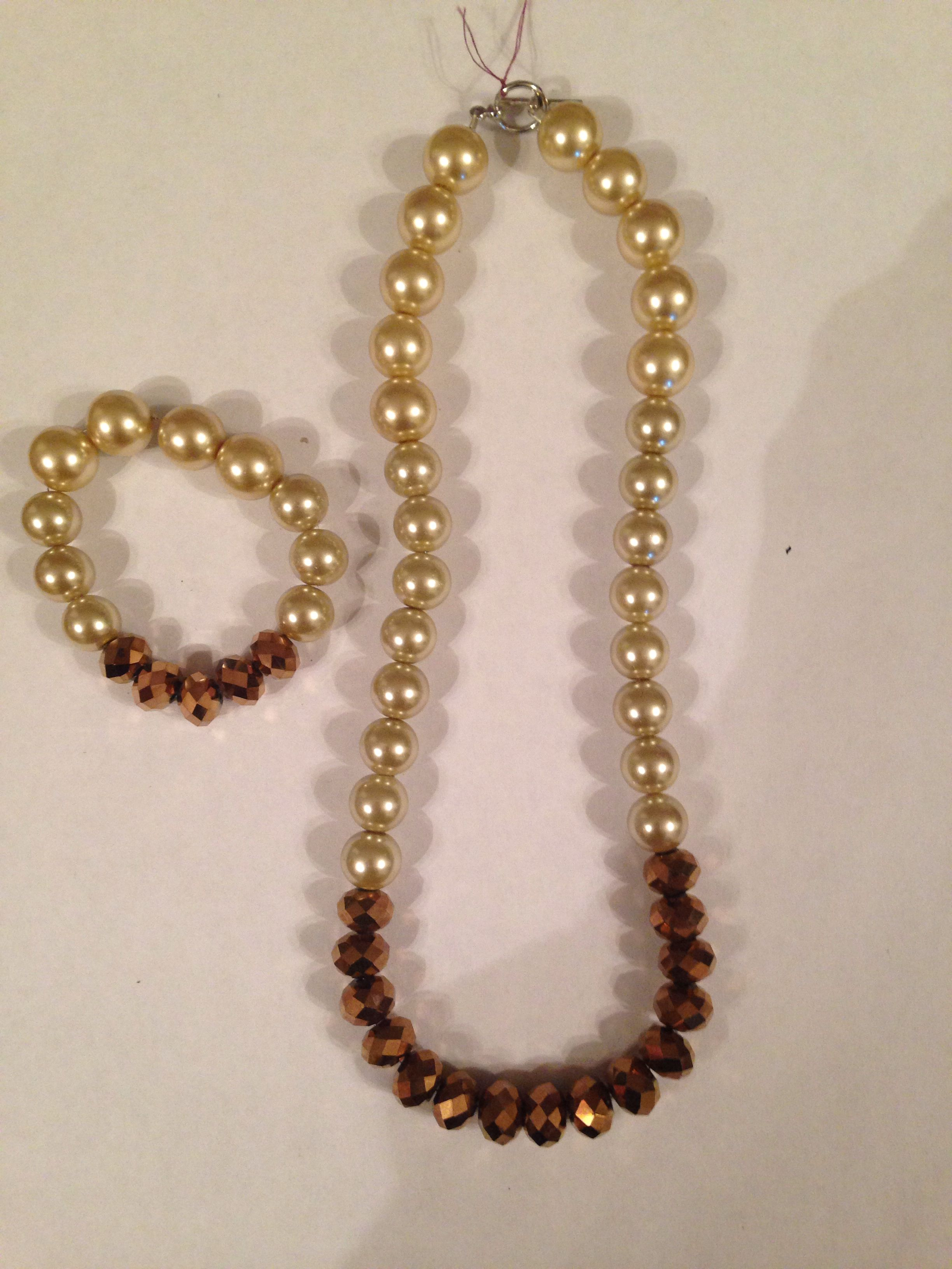 acorns product crystal gold plated pearls hennessy large cream maestro