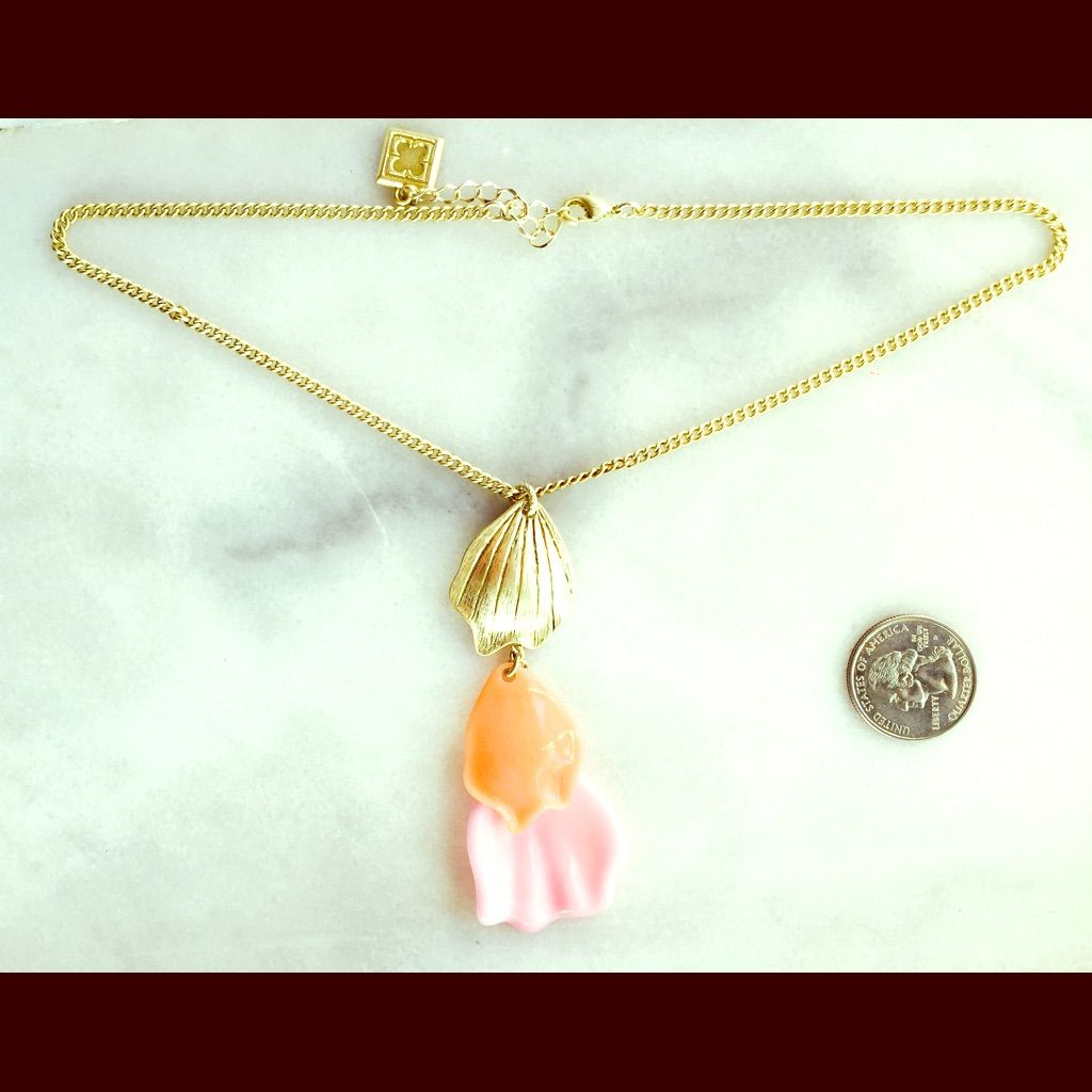 Bogo!Dainty Flower Petal Drop Necklace