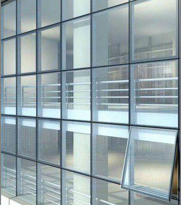 Frameless Glass Curtain Wall Glass Curtain Curtain Wall Glass