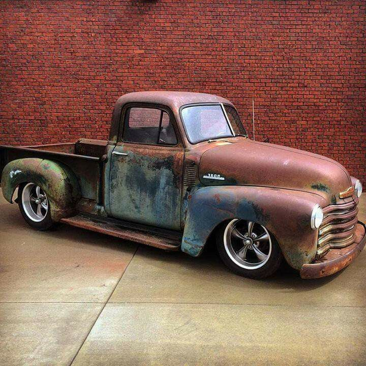 Another nice Chevrolet pickup with cool patina | Pick Up Truck ...