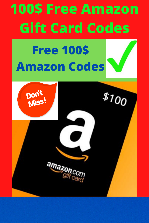 Photo of Free 100$ Amazon Gift Card Codes