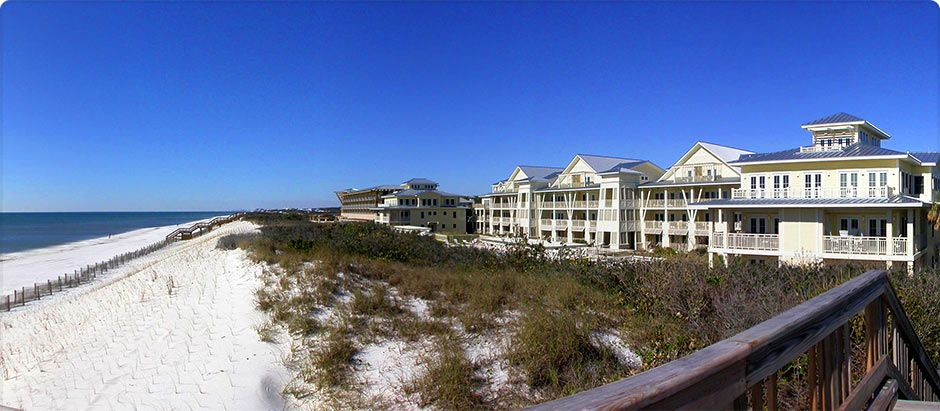 Luxury Gulf Coast Vacation Homes In Watercolor Resort Santa Rosa