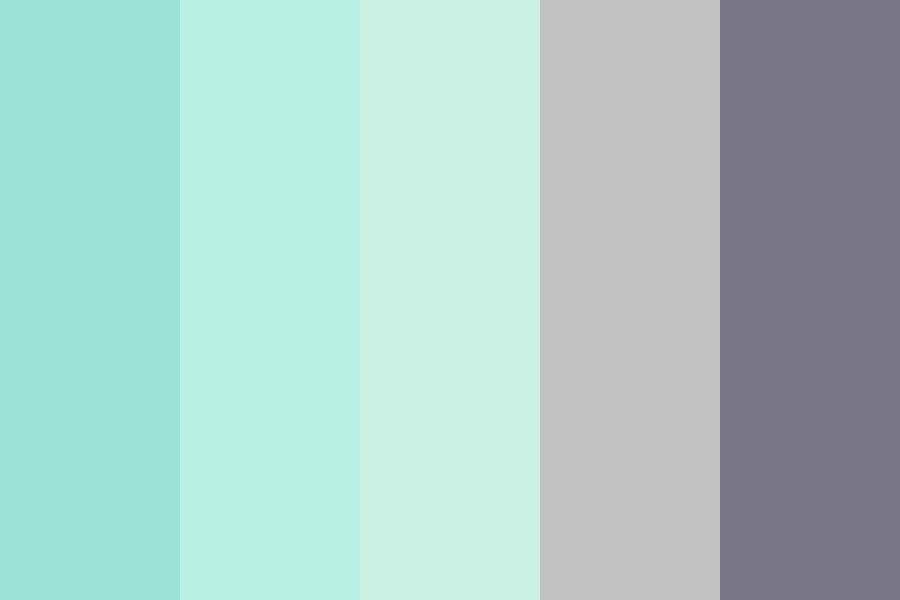 Mint Grey Color Palette Mint Color Palettes Grey Color Palette Grey Color Pallets