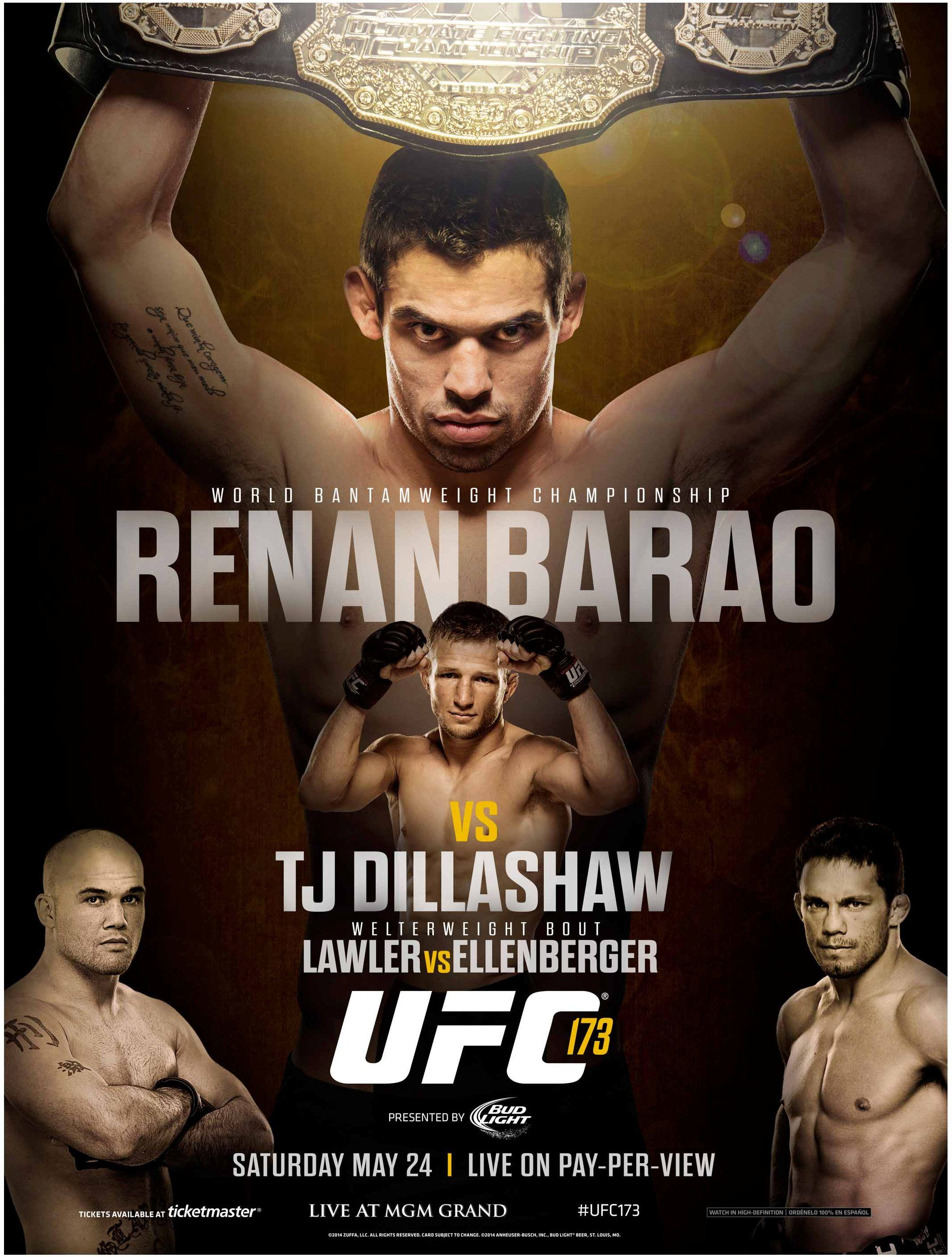 Based On The Poster You D Think The Challenger Wouldn T Stand A Chance Against Such A Domineering Champion The Beautiful Thing Ab Ufc Tj Dillashaw Ufc Poster