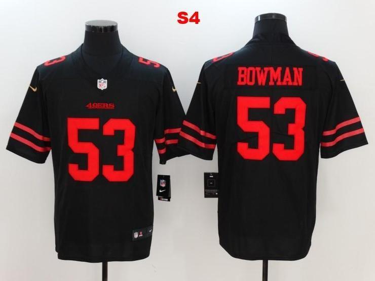 6d374e3f2 Men 53 NaVorro Bowman Jersey Football San Francisco 49ers Jersey ...