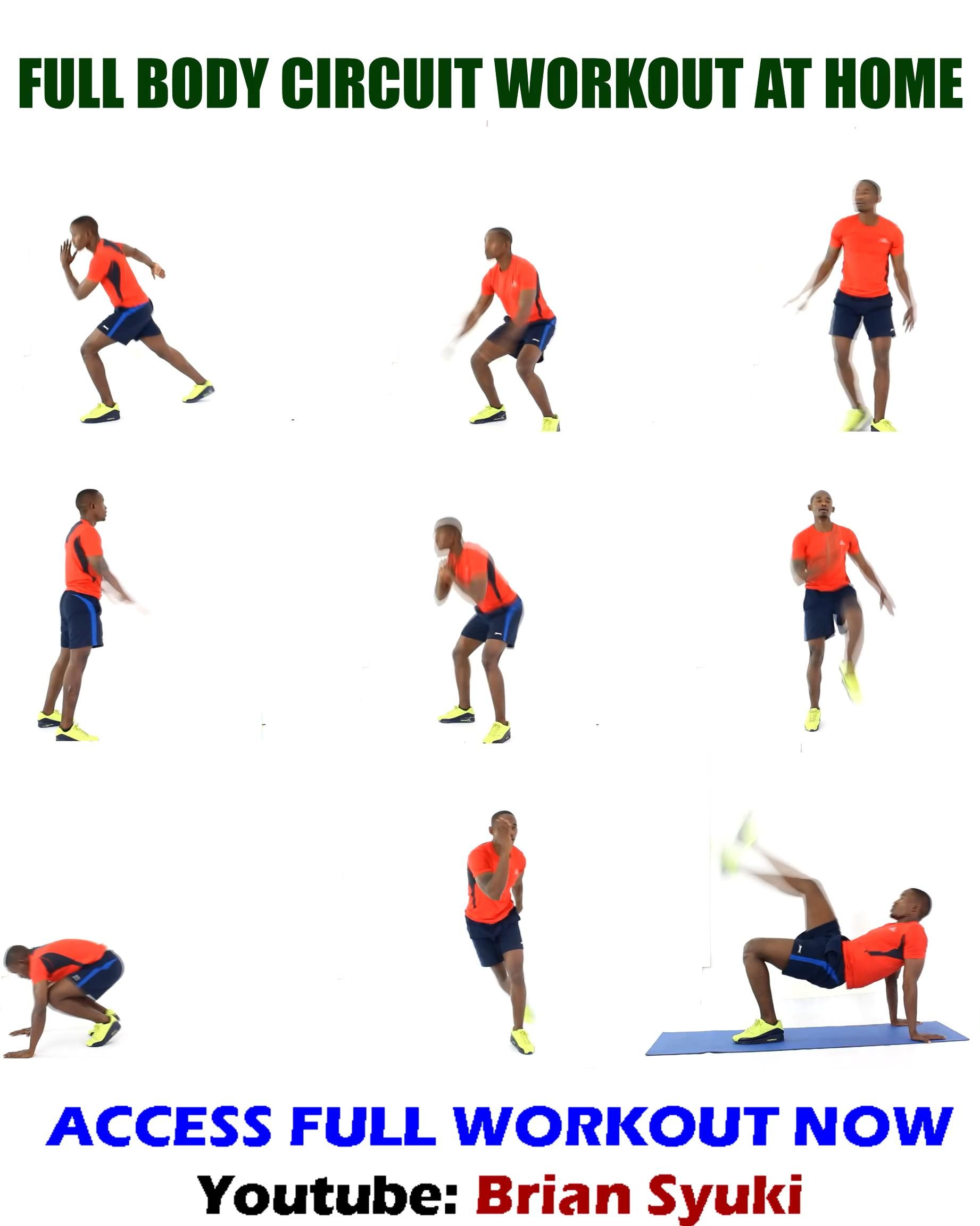 Full Body Circuit Workout at Home