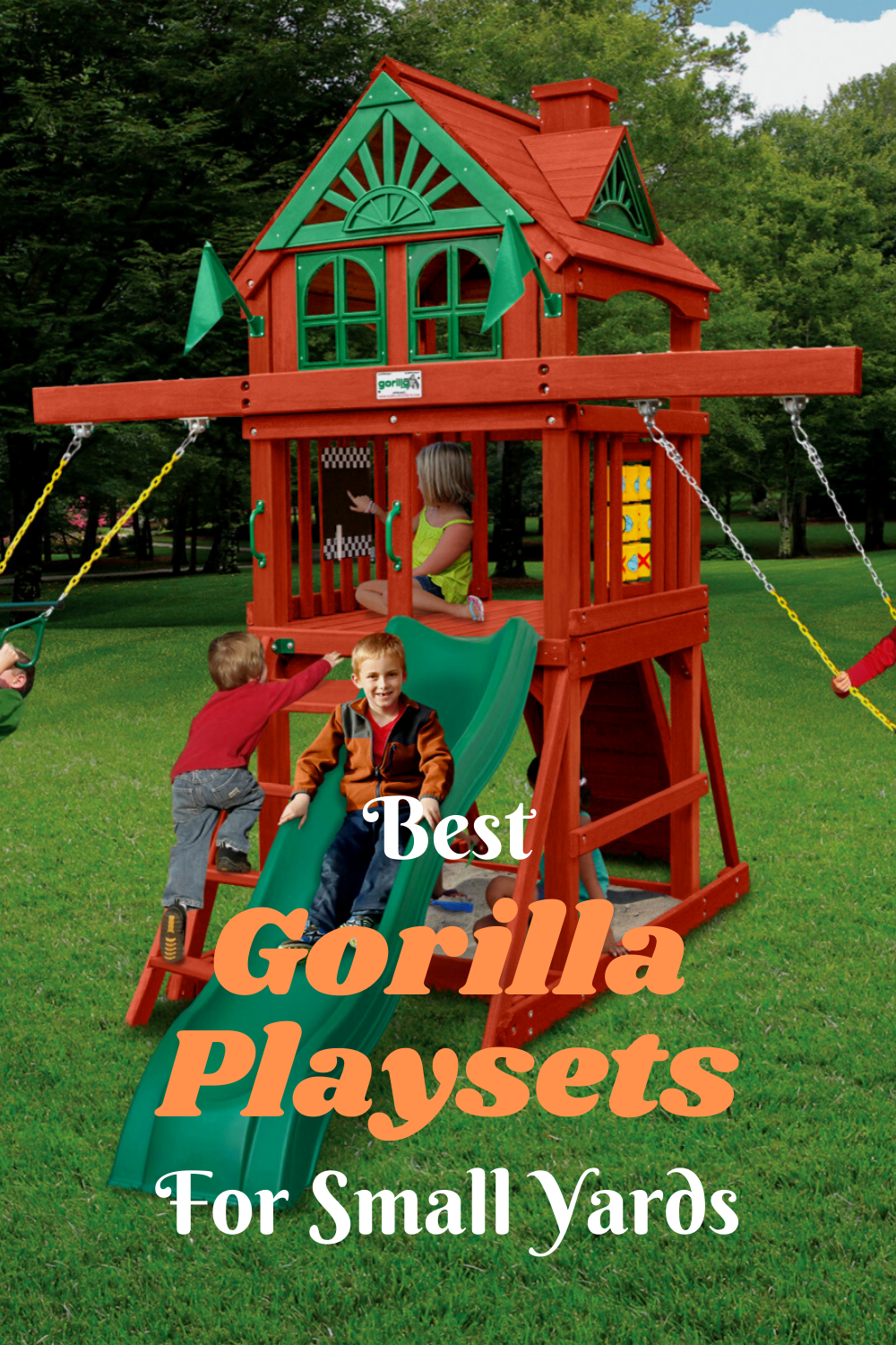 Best Gorilla Playsets for Small Yards in 2020   Backyard ...