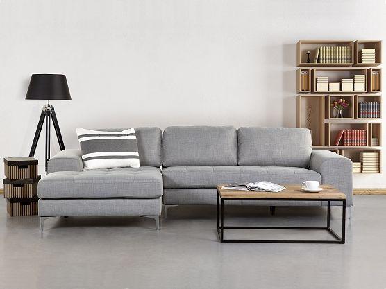 Ecksofa wohnzimmer ~ Sit more ecksofa grau langer schenkel rechts fsc zertifiziert