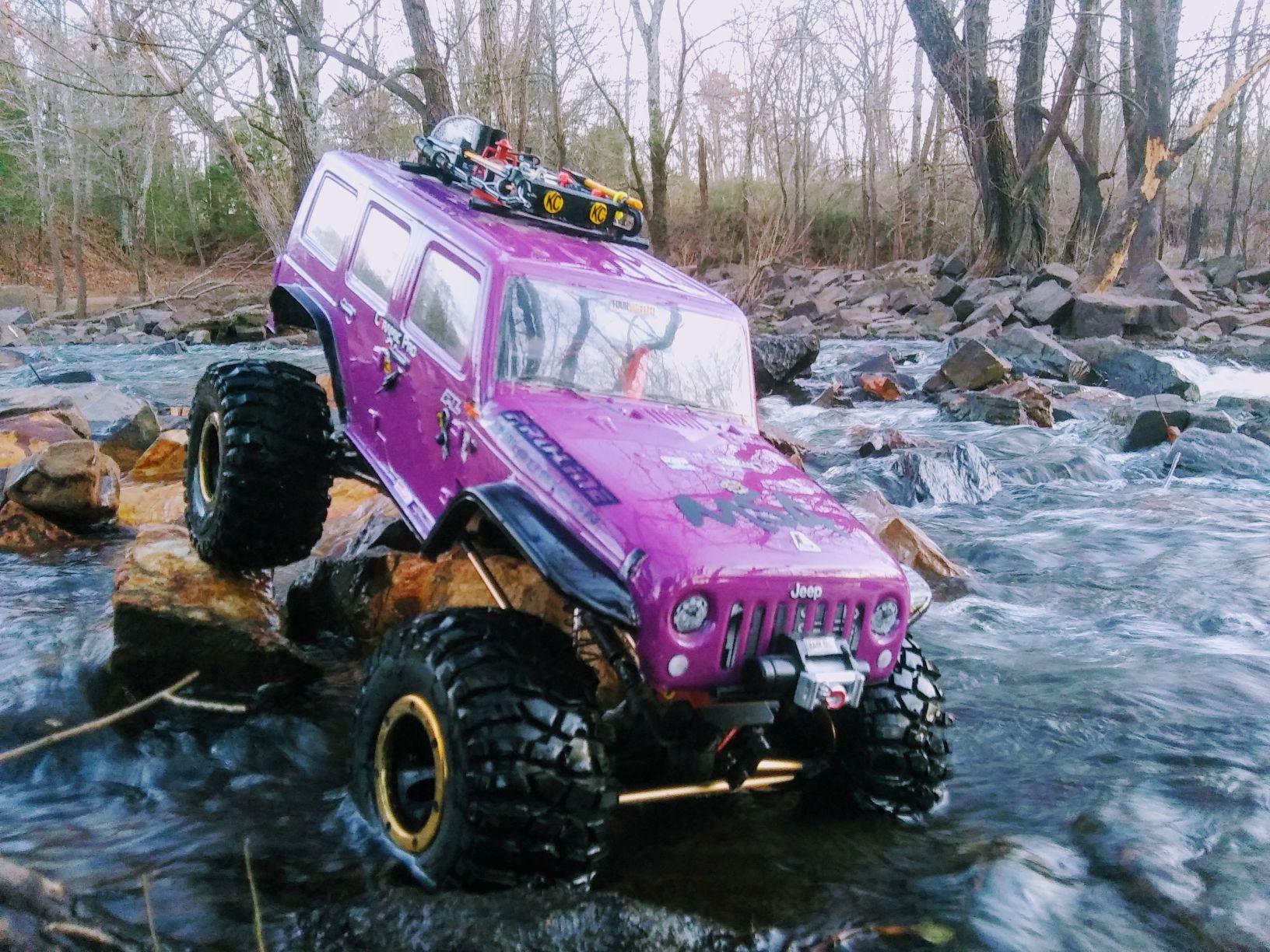 Pink crawlers