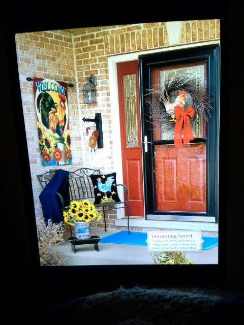 Rooster porch