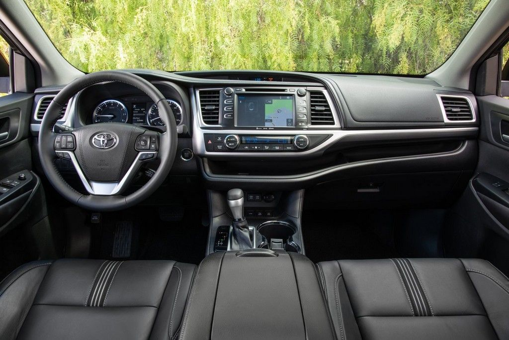 2018 Toyota Highlander Interior Hd Car Toyota Highlander
