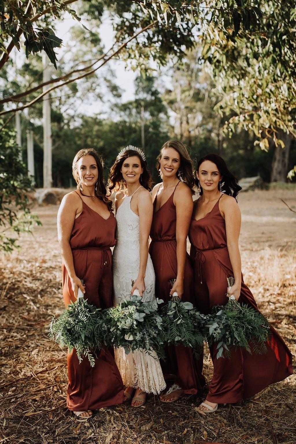 Trending  15 Ideas for Burnt Orange Bridesmaid Dresses for 2019 - WedNova  Blog 044b698c9