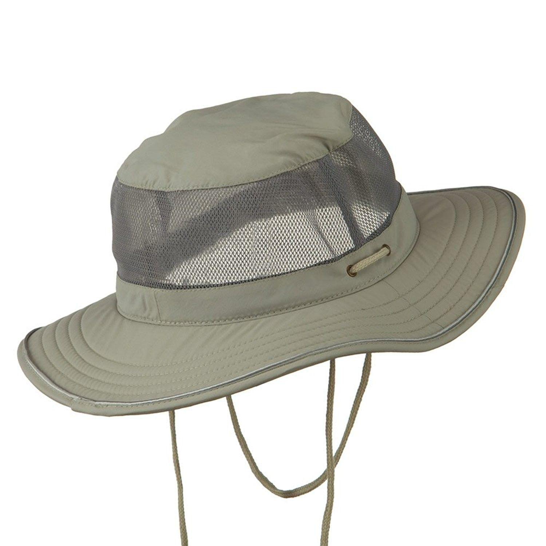 Big Size Talson Uv Mesh Bucket Hat Grey For Big Head Cl11h0h6ka1 Hats For Men Hats Big Size