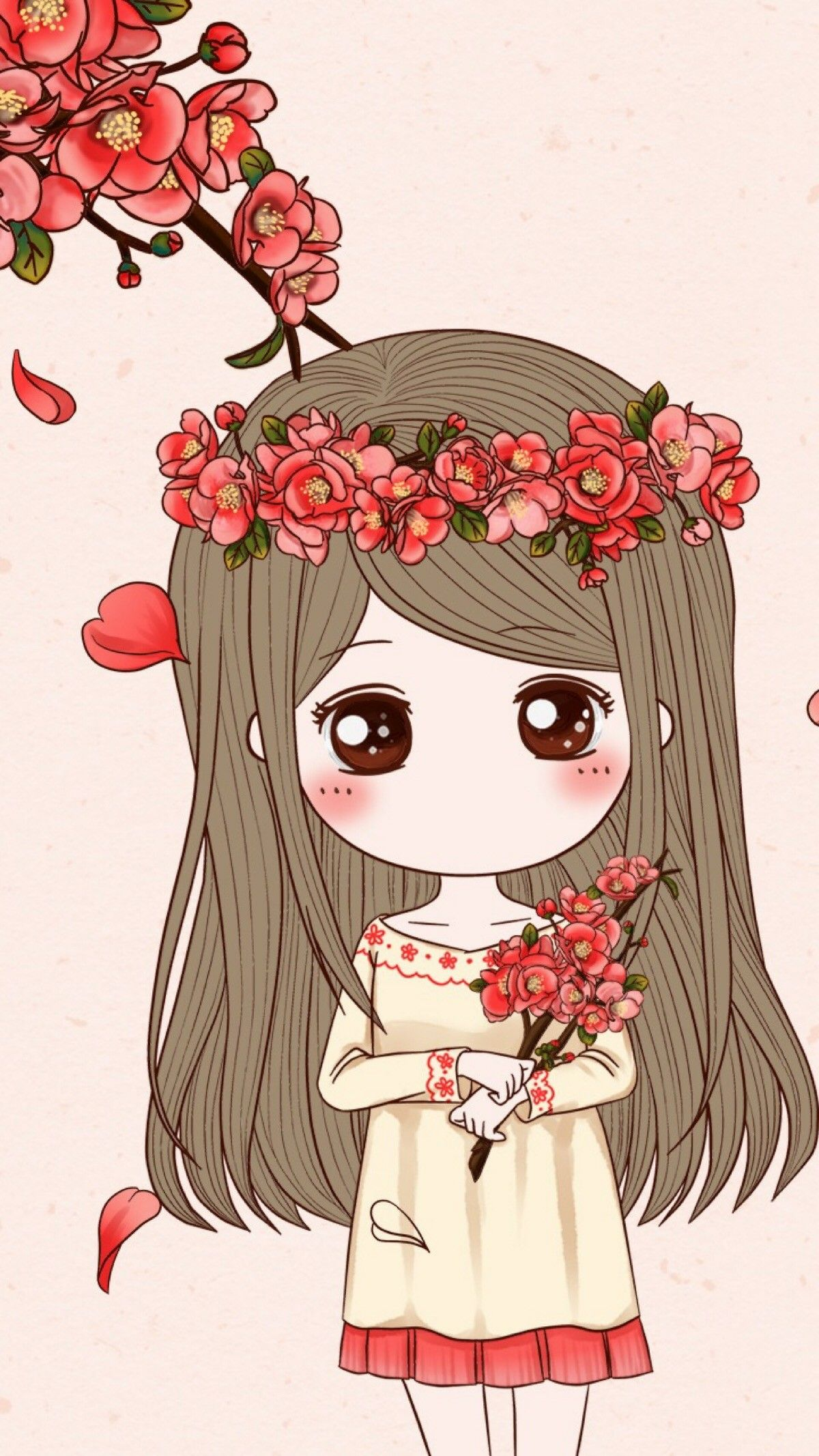 Idea by Fariyah95 on Chibi Cute girl wallpaper, Cute