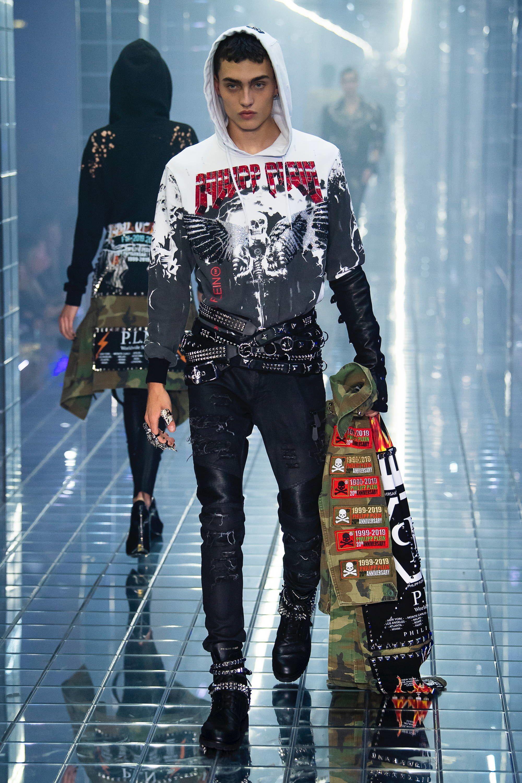 ec3f8c4ed01 Philipp Plein Spring 2019 Ready-to-Wear Fashion Show | men`s fashion ...