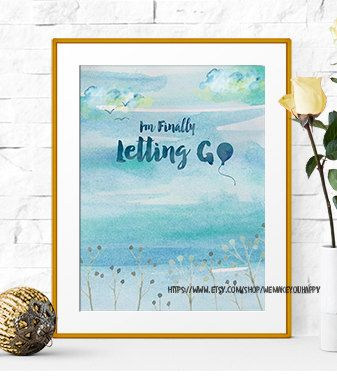 Motivational Print Printable Art Home Decor Wall by Wemakeyouhappy