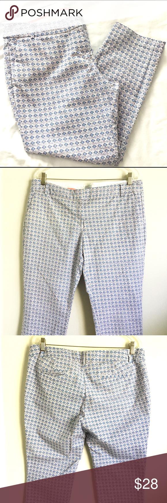 Paraphrase Paisley Diamond Cropped Pant 14 Clothe Design Pants