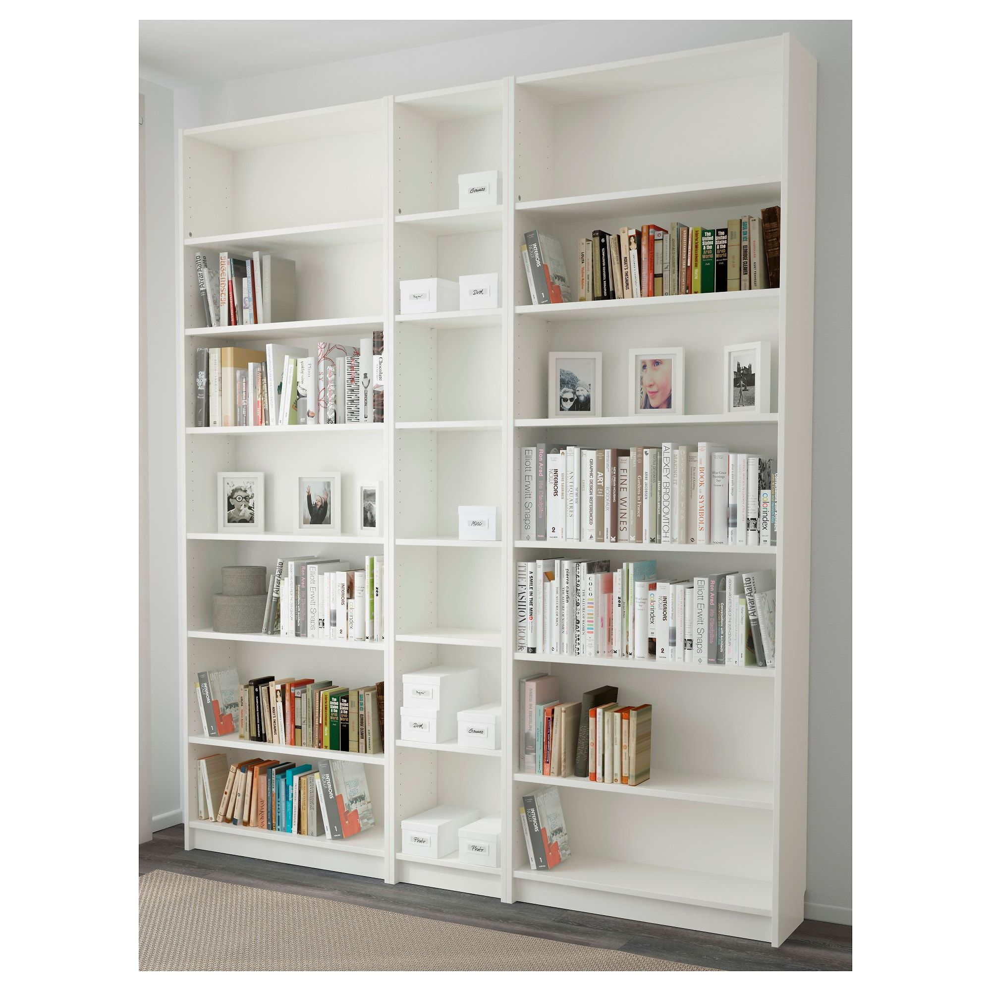 Billy Bibliotheque Blanc 200x28x237 Cm Deco Maison