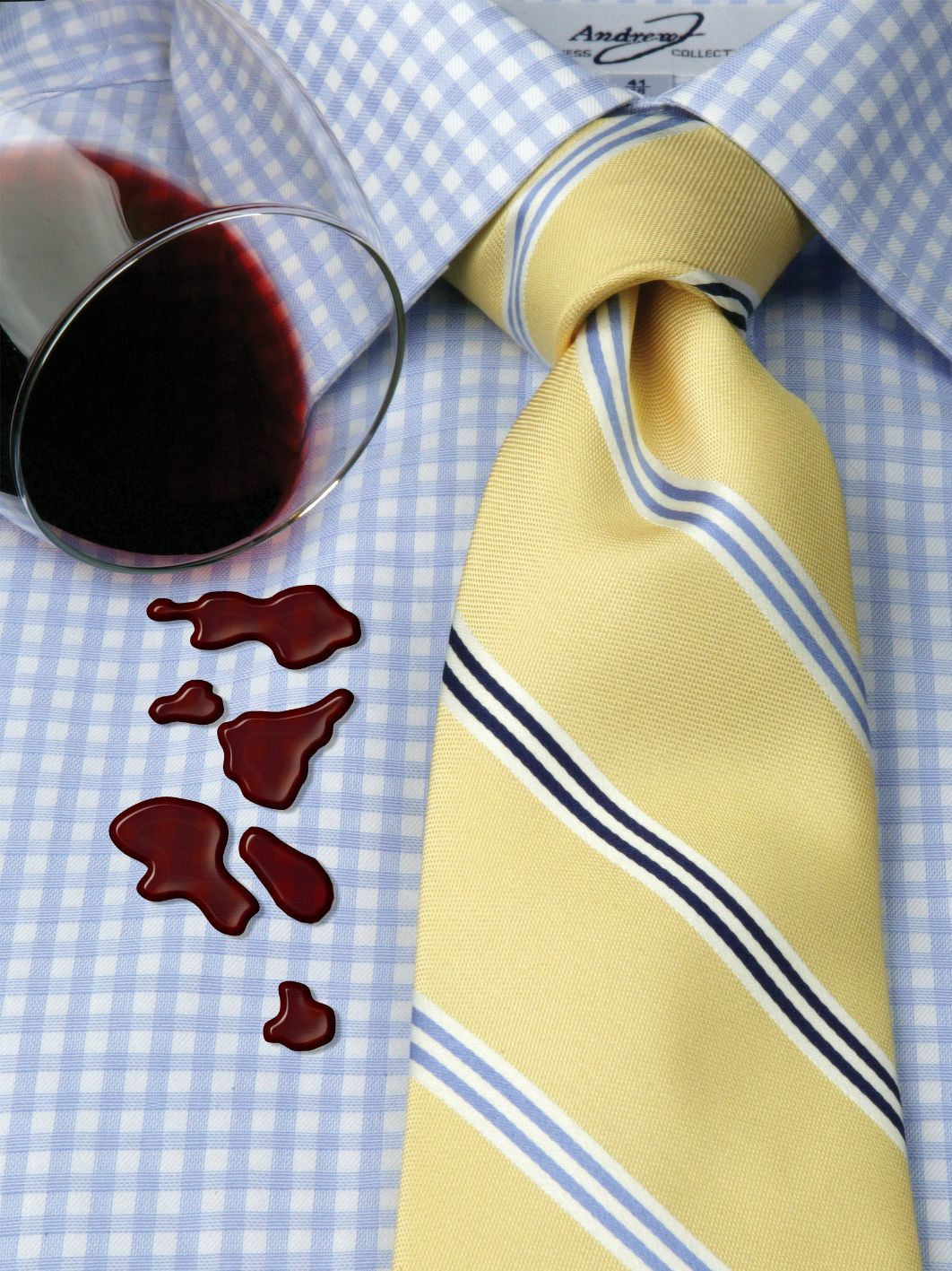 STAINS!  Nothing worse then getting mustard or grape juice on your favorite white shirt.