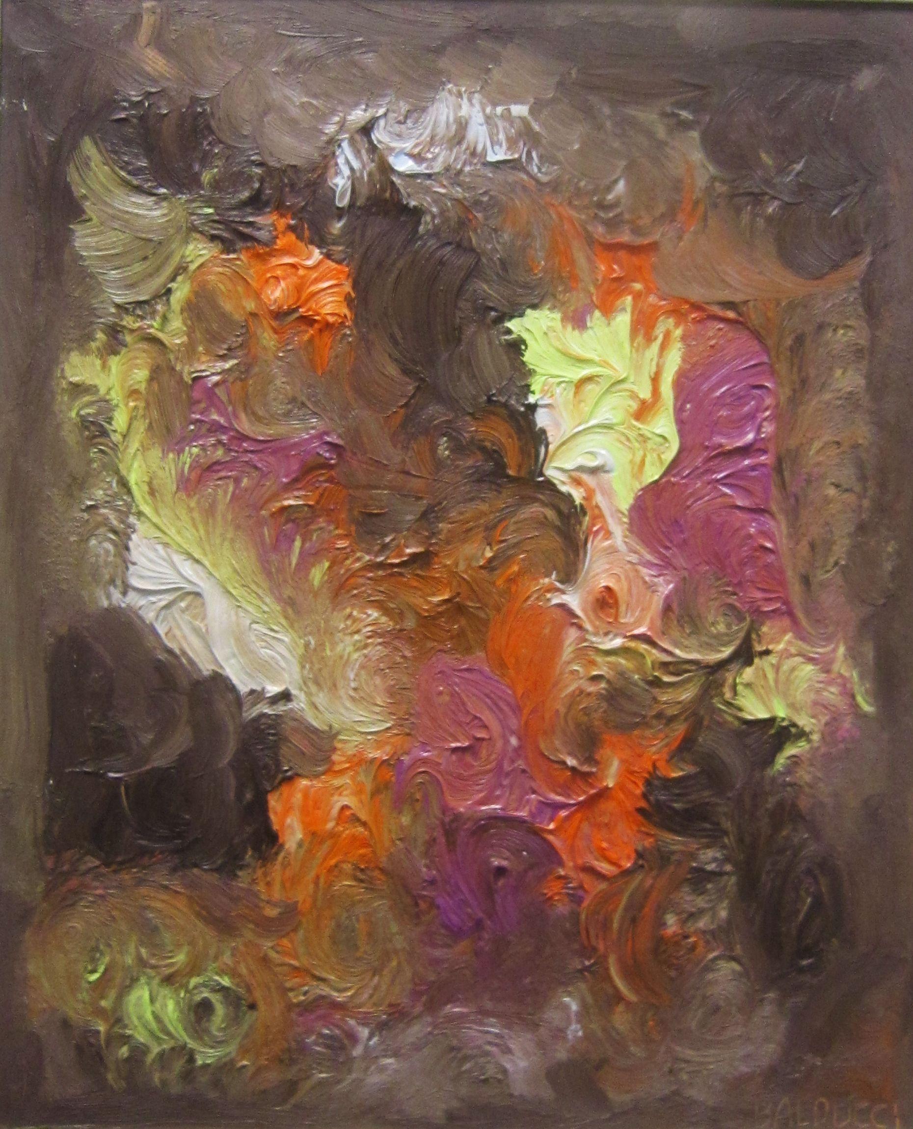 Bosco in fiamme - Marco Balducci, sezione arti grafiche e pittoriche