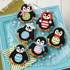 Penguin Pals Christmas Cookies Penguin Cookies Christmas Sugar
