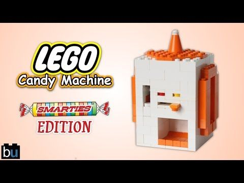 How To Build A Mini Lego Candy Machine 3 Youtube Lego Creations