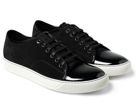 LANVIN Sneakers Black Men