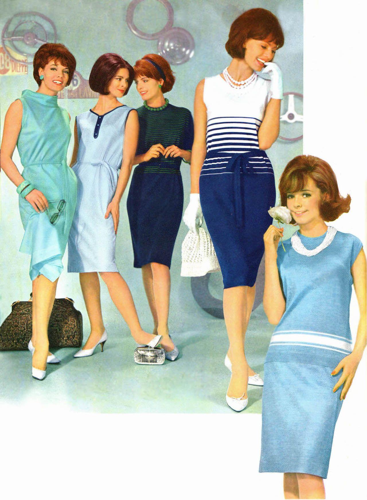 mode ann es 60 1964 1 gl costumes pinterest. Black Bedroom Furniture Sets. Home Design Ideas
