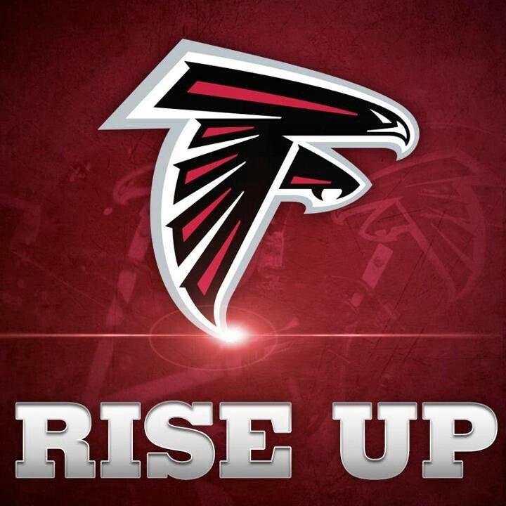 Rise Up Atlanta Falcons Logo Atlanta Falcons Falcons Fan