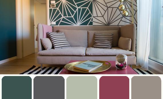 Interesting color palette nel 2019 colori pareti colori for Colori moderni per pareti