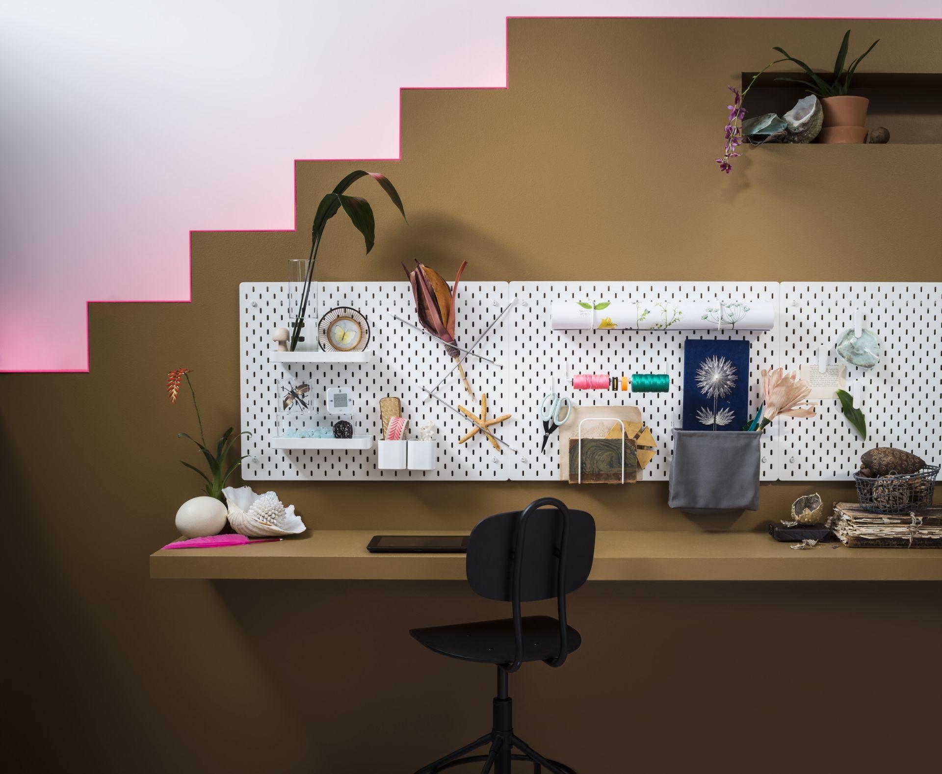SkÅdis ophangbord wit nieuw bij ikea werkplekken