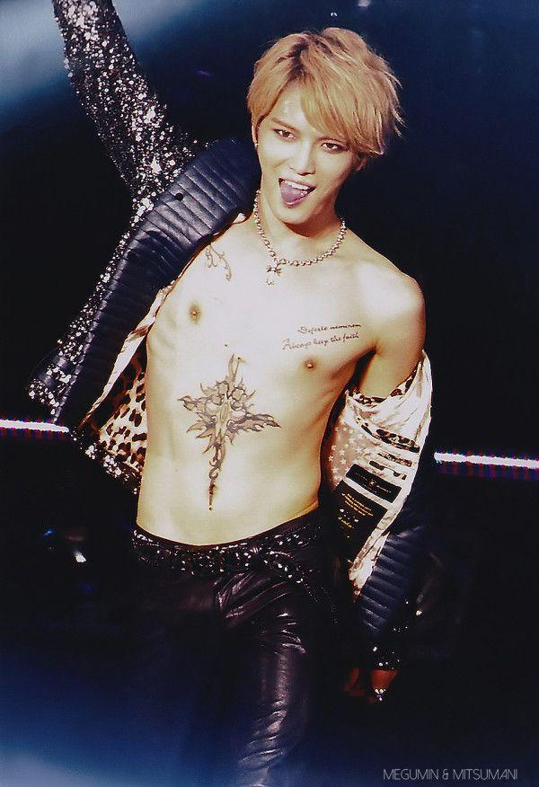 jaejoong tattoo butterfly - photo #16