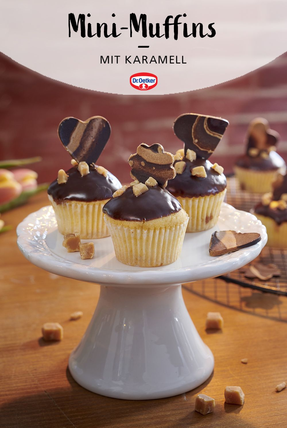 Mini Muffins Mit Karamell Rezept In 2020 Dessert Ideen Karamell Rezept Muffins