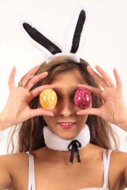 Chocolate eggs & Playboy bunnies