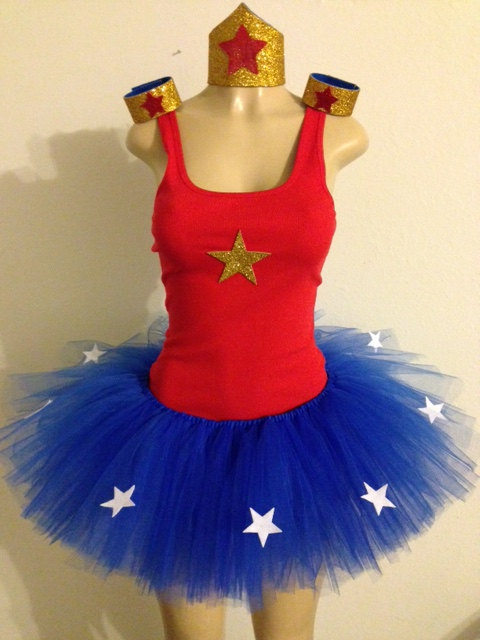 Pin By Deborah Warren On Costume Ideas  Wonder Woman Tutu -8788