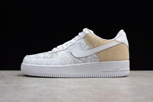 cf51558678dbd 2018 Nike Air Force 1 Low PRM YOTD 18 White For Sale