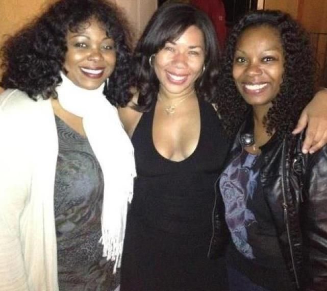 After the show with two of my favorite people in the world!  <3