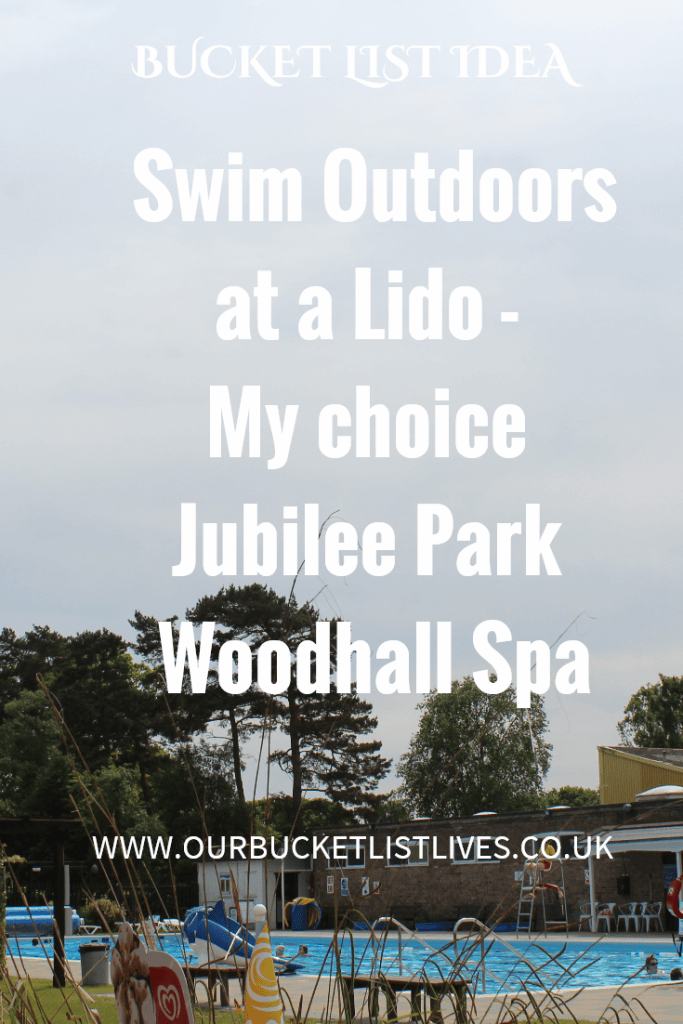 Jubilee Park Lido Woodhall Spa - Lincolnshire. Bucket list idea