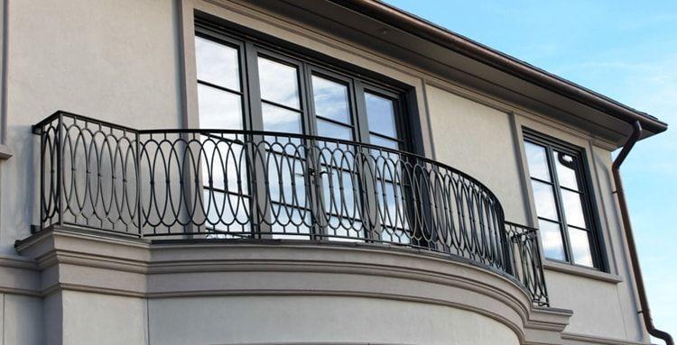 أفضل 5 اشكال شبابيك حديد خارجية للمنازل ديكورموز Juliet Balcony Stairs Decor