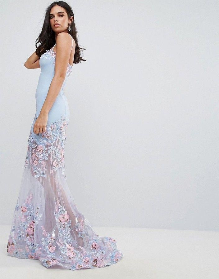 6dea77046c Forever Unique Floral Sweetheart Maxi Dress