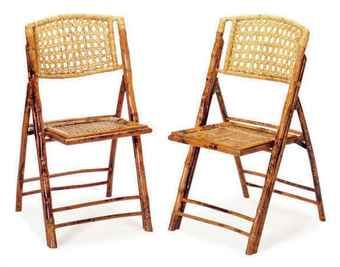a set of eight bamboo folding chairs break my heart why don t ya