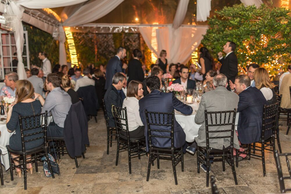 Black Chiavari Chairs Villa Azur Fiery Luxury Event For Client At Miami Beach Luxury Event Miami Beach Villa