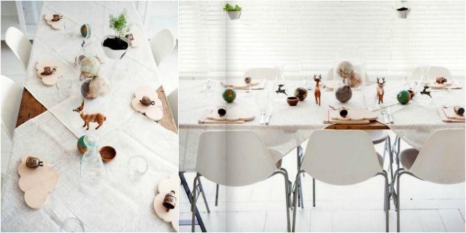 mesa animales