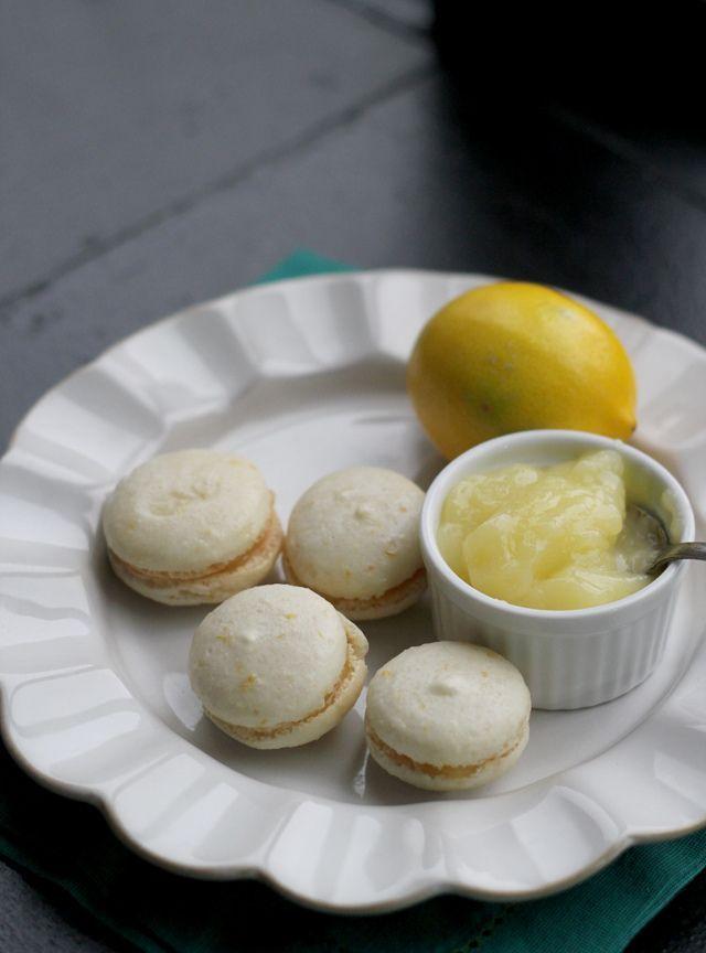 Meyer Lemon Macarons - Recipes -