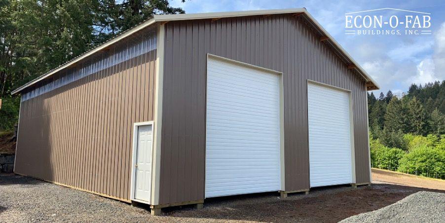 40 X 50 X 16 Agricultural Pole Building In 2020 Pole Buildings Farm Buildings Building Contractors