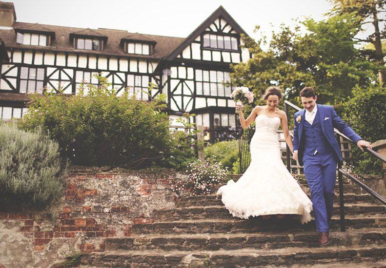 Sam Laurence Laura Ashley Manor Wedding
